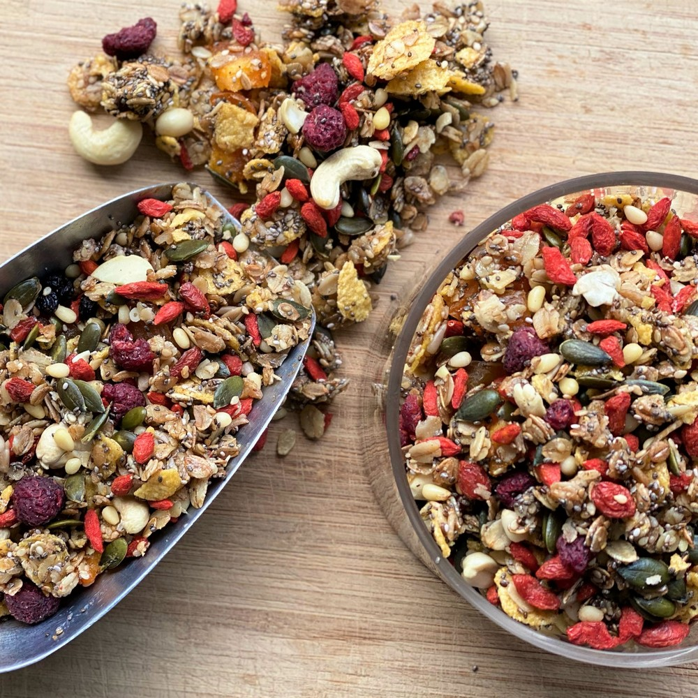 Granola Make my Day χωρίς ζάχαρη Υγιεινά Σνακ