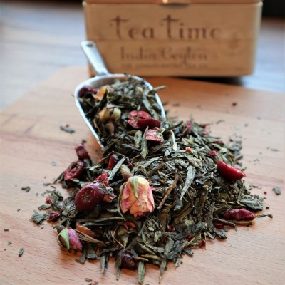 Green Tea Cranberry Rose